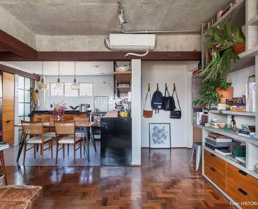 L005 - Apartamento detalhe concreto